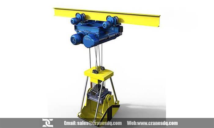 Bucket crane: 5-25 ton bucket crane with clamshell bucket