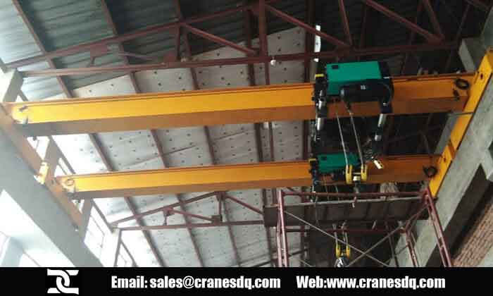 Single girder electric hoist for Bangladesh project