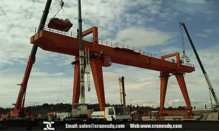 Gantry crane case:32 ton gantry crane for sale and crane installation