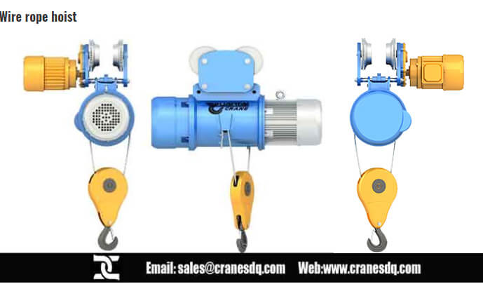 Cheap wire rope hoist