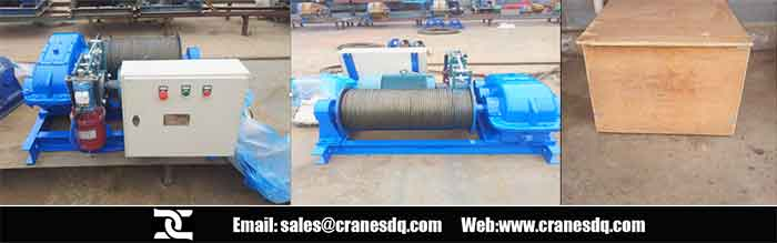 Electric winch for Australia clients