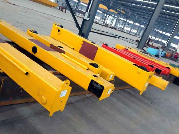 LD 5ton overhead crane unfinished end girder