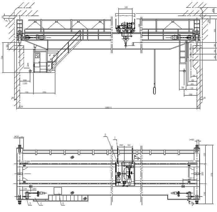 Overhead Cranes Used In Bangladesh Steel Coil Plant Crane