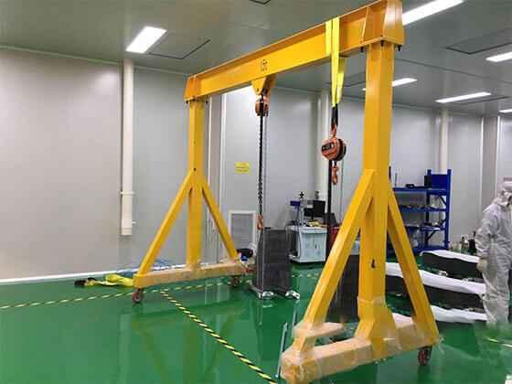 Portable Gantry Crane Movable Gantry Crane Rolling Gantry Crane