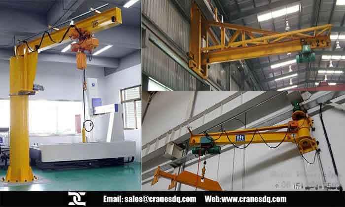 Warehouse Crane System 2 Ton Jib Crane For Material