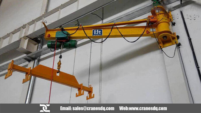 Workshop crane - Wall mounted jib crane