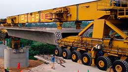 Lifting crane for consturction industries