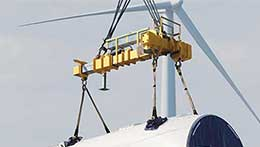 lifting crane for wind energy industires
