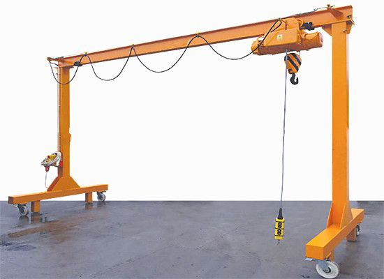 3 ton gantry crane adjustable height is your economical and easy way for material handling