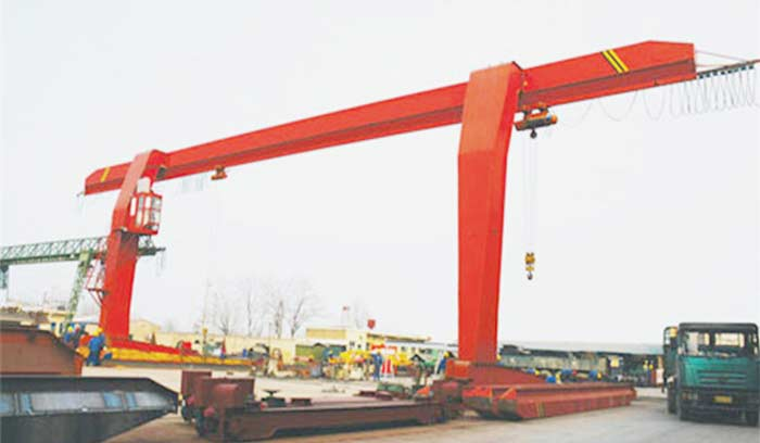 30 ton gantry crane with L shaped leg  for sale