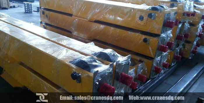 End carriage: single girder crane end carriages &  double girder crane end carriage
