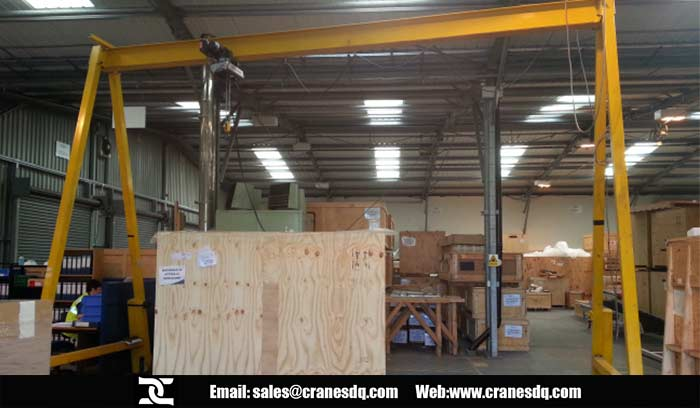 A-frame gantry crane for sale
