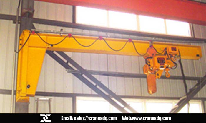 Wall cantilever  workstation crane