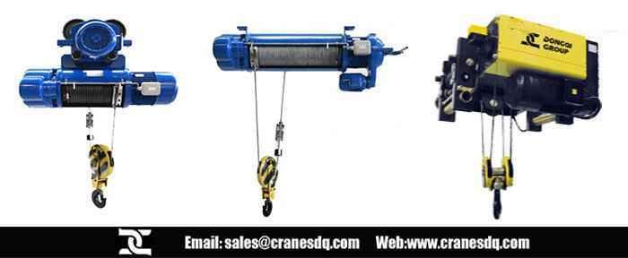 Rope electric crane hoist , FEM electric crane hoist, explosion