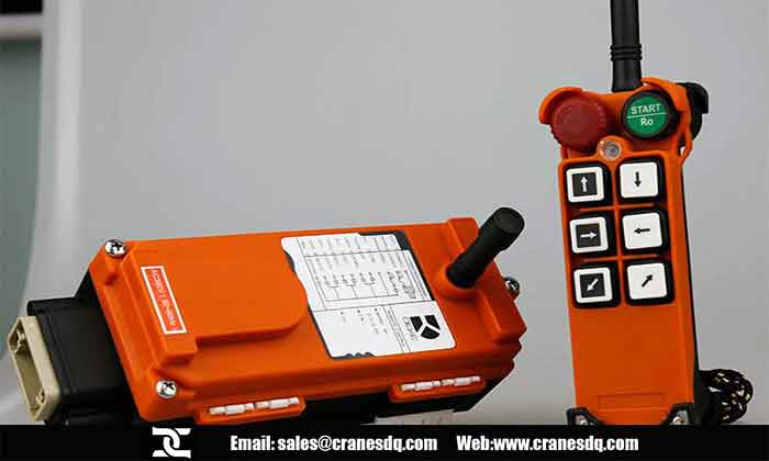 Crane radio controls, Crane radio control specifications,