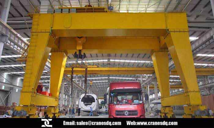 Workshop gantry crane, shop gantry crane, workstation gantry crane