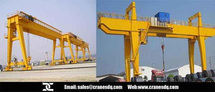Double girder outdoor gantry crane