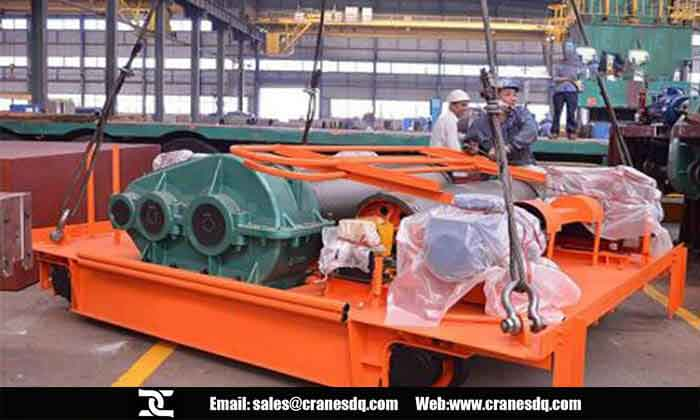Drum hoist crane: Single drum hoist crane & Double drum hoist crane