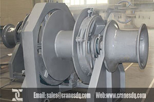 drum mooring winch for sale