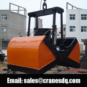 Clamsheel grab bucket - Dongqi hydraulic grab bucket