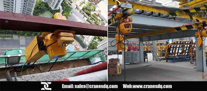 7 ton hoist for sale: Dongqi 7 ton electric hoist and electric chain hoist for sale
