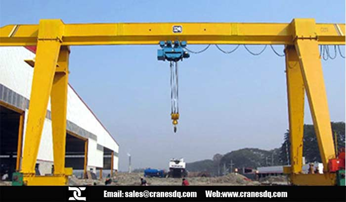 Single beam gantry crane for sale