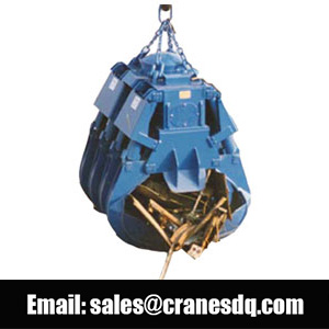 Rectangular grab bucket - Dongqi electric hydrualic grab bucket