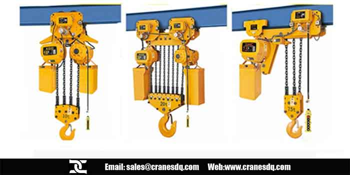 Trolley electric chain hoist for sale