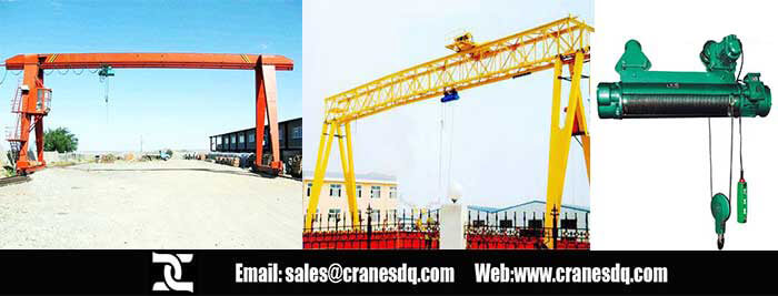 Explosion proof gantry crane with explosion proof hoist