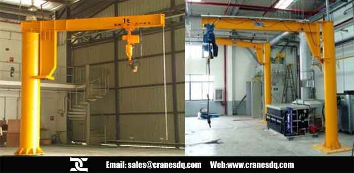 Foundationless 80 ton crane