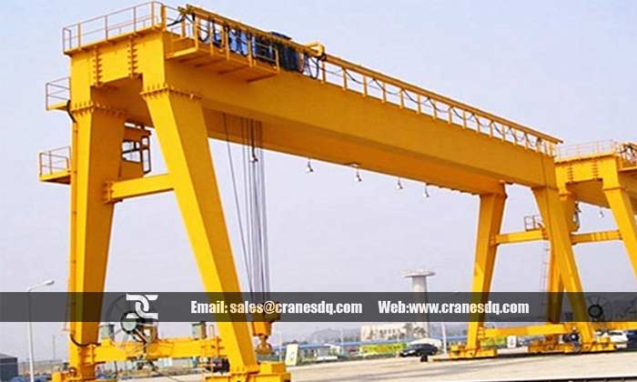 A type double beam gantry crane for sale,