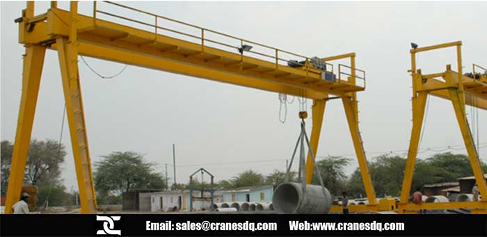 Goliath cranes and semi goliath gantry crane