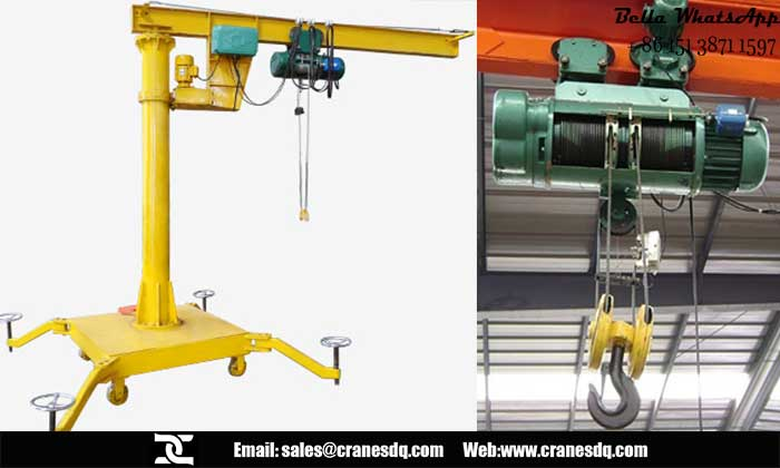 Used Jib Crane Hoist : Portable cranes and hoist crane