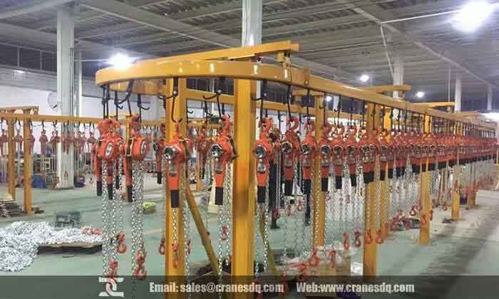 Manual chain hoist, the most economical hoist for material handling