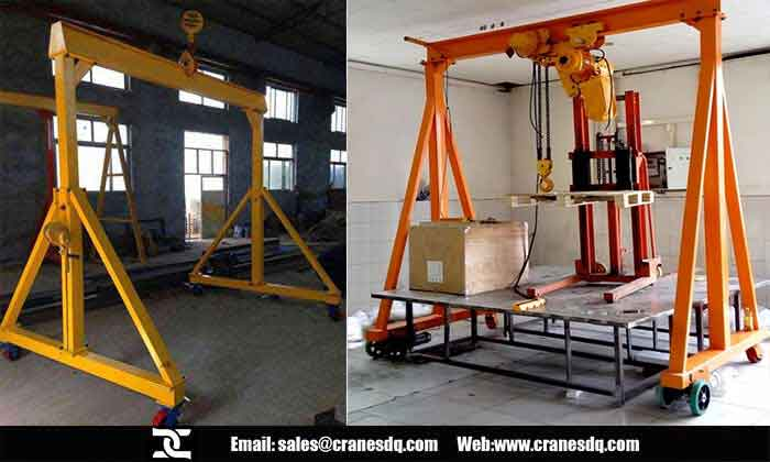 Light duty gantry crane, Light gantry crane, Light duty material handling