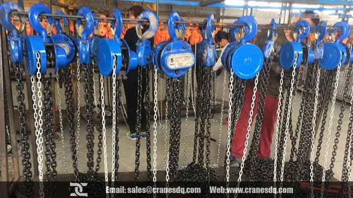 Manu chain hoist and manual handling hoist for sale