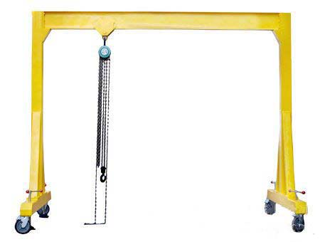 Manual gantry crane for sale