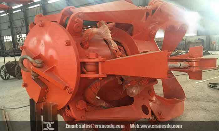 Crane peel grab: Orange peel grab, Orange peel bucket
