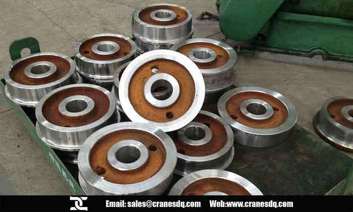 Overhead crane wheels, bridge crane wheels, crane trolley wheels