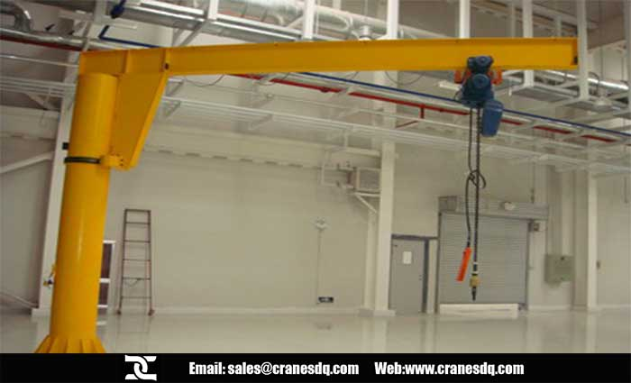 Pedestal jib crane for sale good price