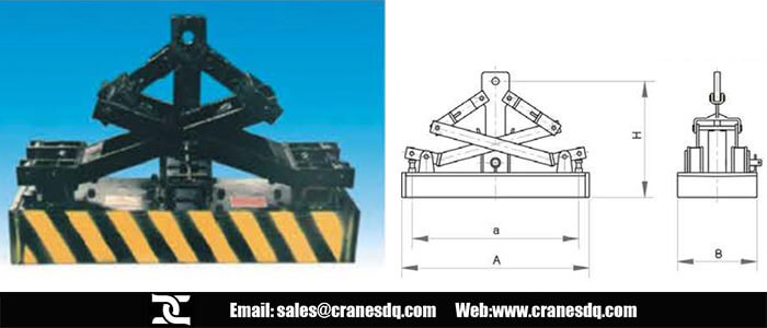Permanent magnet lifter and permanent mangnet lifter drawing