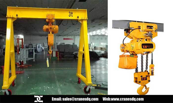 Portable cranes and hoist: Portable crane & portable crane