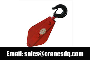 Pulleys for sale: Lifting pulley, crane pulley and crane pulley system
