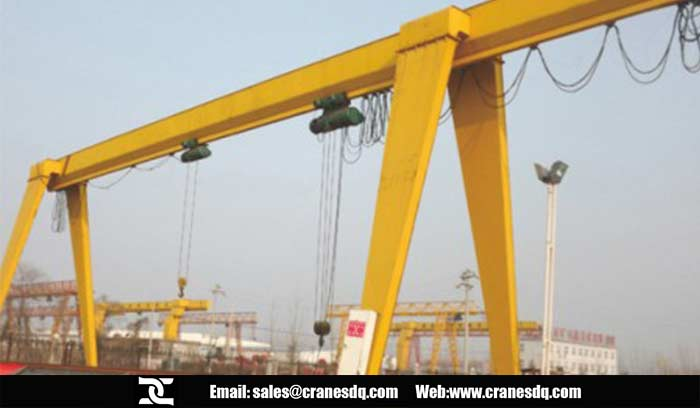 Robust A Frame Gantry Crane Of Dongqi Hoist And