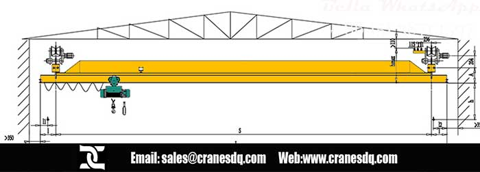 Roof crane design drawing