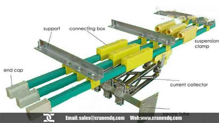 Overhead Crane Busbar System : Crane busbar overhead system