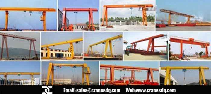 Small Bridge Crane Small Overhead Gantry Crane Small