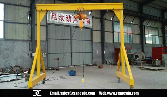 Steel gantry crane for sale