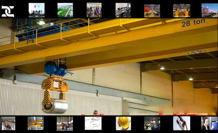 Steel mill factory crane