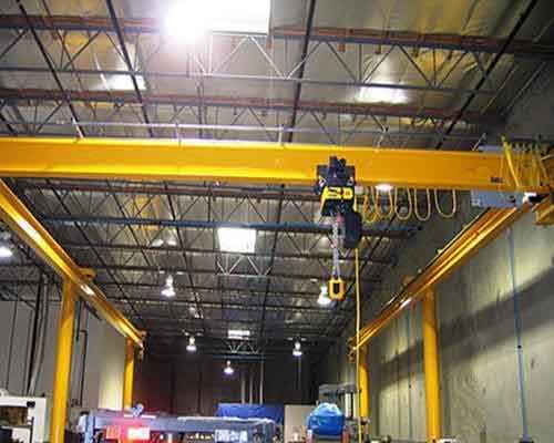Underhung Crane Has Your Material Hanlding Problem Under